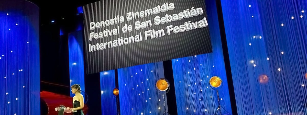 San Sebastián Film Festival - string curtains