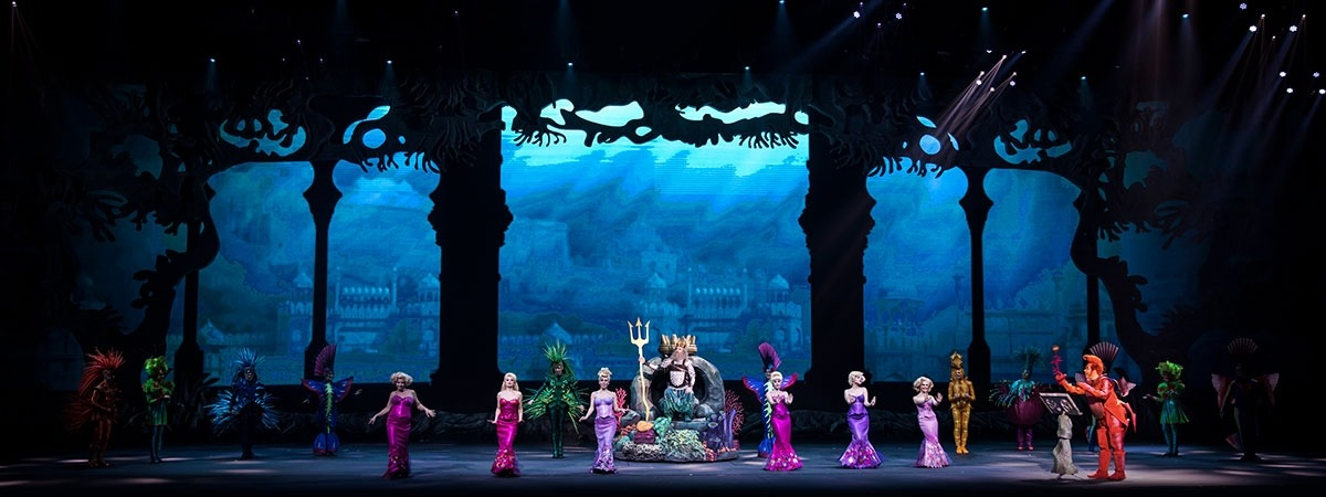 The Little Mermaid - Masking drapes