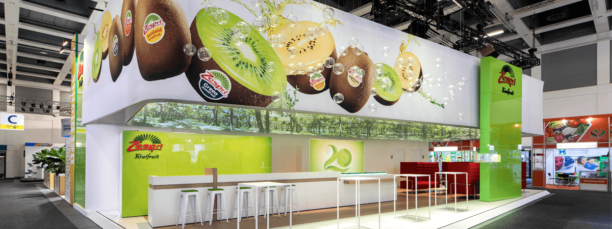 Zespri Expo Stand