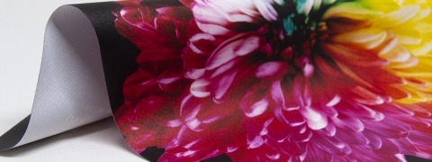 Backlit Premium Print - printed fabric