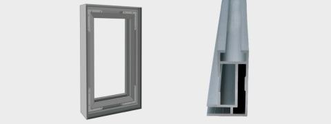 Single Frame - aluminium frame
