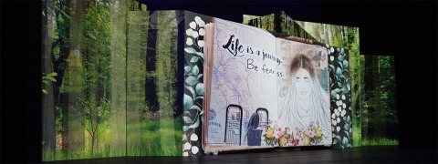 Event backdrop example