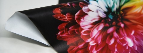 Backlit DeLux Print - printed fabric
