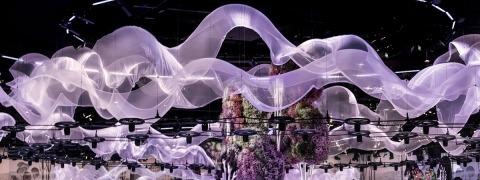 FeatherSilk - floating fabric
