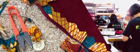 Upcycling fabrics at ShowTex
