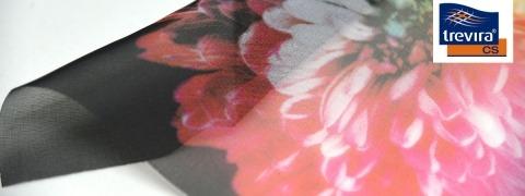 Voile CS Print - printed sheer fabric